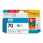 Original C9452A (HP 70) Ink Cartridges, Cyan