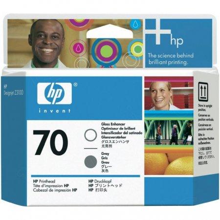 Original C9410A (HP 70) Ink Cartridge Printhead, Gloss & Gray