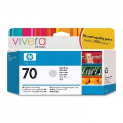 Original C9451A (HP 70) Ink Cartridges, Light Gray