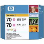 Original CB346A (HP 70) Ink Cartridges, High-Yield Light Magenta