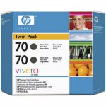 Original CB339A (HP 70) Ink Cartridges, High-Yield Matte Black