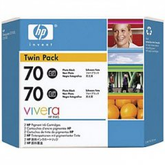 Original CB340A (HP 70) Ink Cartridges, High-Yield Photo Black
