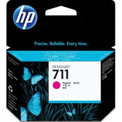 Original CZ131A (HP 711) Ink Cartridges, Magenta