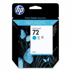 Original C9398A (HP 72) Ink Cartridges, Cyan