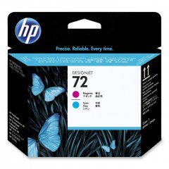 Original C9383A (HP 72) Ink Cartridge Printhead, Cyan & Magenta