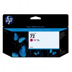 Original C9372A (HP 72) Ink Cartridges, High-Yield Magenta