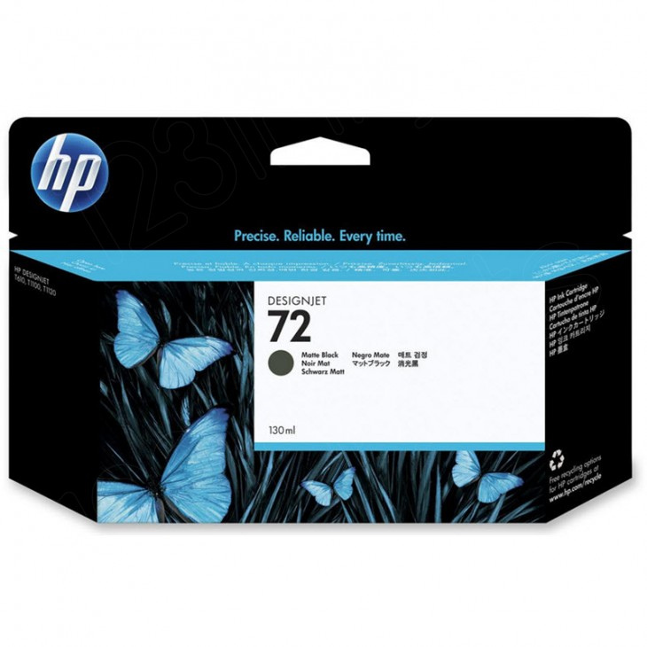 Original C9403A (HP 72) Ink Cartridges, High-Yield Matte Black