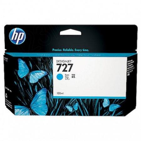 Original B3P19A (HP 727) Ink Cartridges, 130-ml Cyan