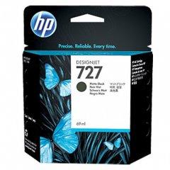Original C1Q11A (HP 727) Ink Cartridges, 69-ml Matte Black