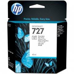 Original B3P17A (HP 727) Ink Cartridges, 40-ml Photo Black