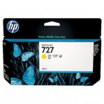 Original B3P21A (HP 727) Ink Cartridges, 130-ml Yellow