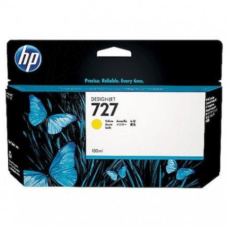 Original B3P21A (HP 727) Ink Cartridges, 130-ml Yellow