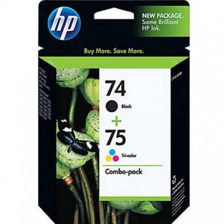 HP 74 / 75 Original Ink Pack
