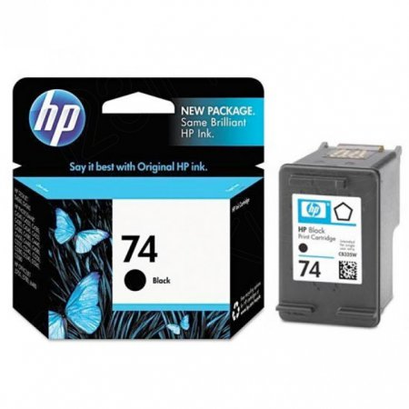 Original CB335WN (HP 74) Ink Cartridges, Black