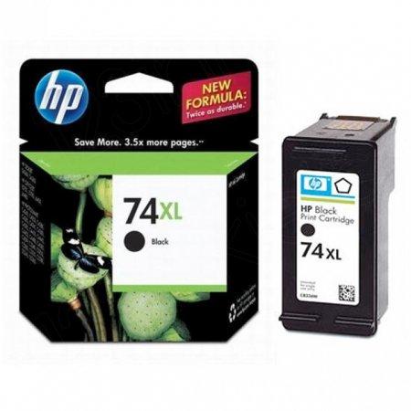 Original CB336WN (HP 74XL) Ink Cartridges, High-Yield Black