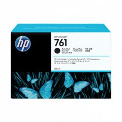 Original CM991A (HP 761) Ink Cartridges, Matte Black