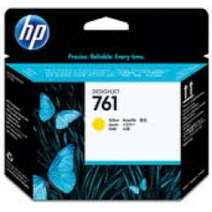 Original CH645A (HP 761) Ink Cartridge Printhead, Yellow