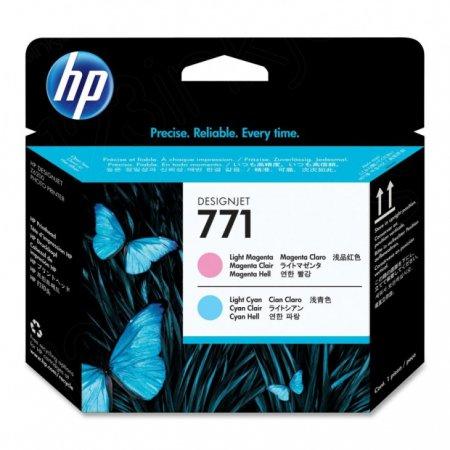 Original CE019A (HP 771) Ink Cartridge Printhead, Light Cyan & Light Magenta