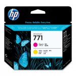 Original CE018A (HP 771) Ink Cartridge Printhead, Magenta & Yellow
