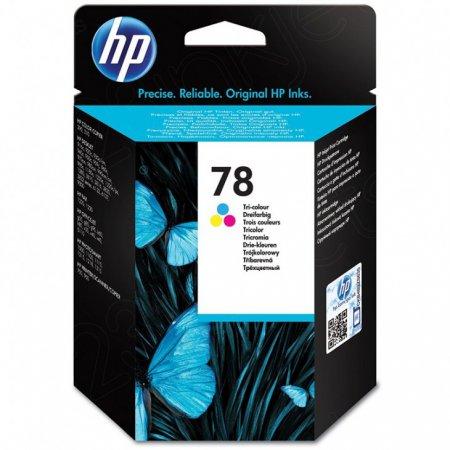 Original C6578D (HP 78) Ink Cartridges, Color