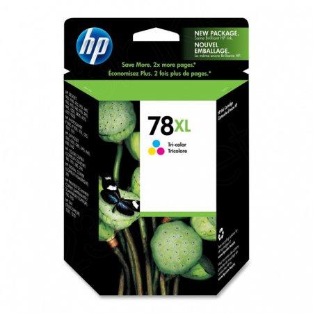 Original C6578AN (HP 78XL) Ink Cartridges, High-Yield Color