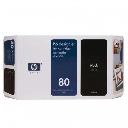 Original C4871A (HP 80) Ink Cartridges, Black
