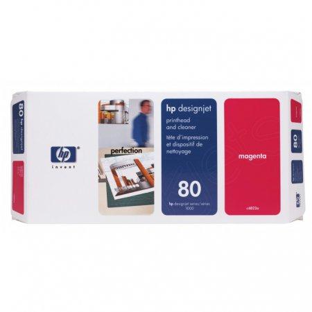 Original C4822A (HP 80) Ink Cartridge Printhead, Magenta