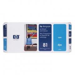 Original C4951A (HP 81) Printhead and Cleaner, Cyan
