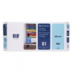 Original C4954A (HP 81) Printhead and Cleaner, Light Cyan
