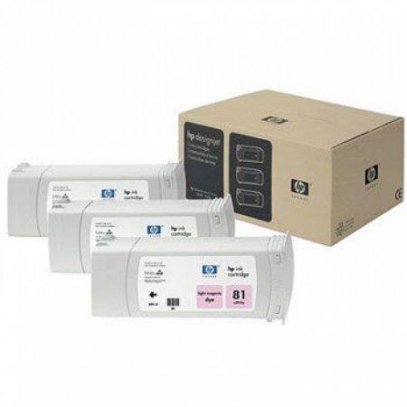 Original C5071A (HP 81) Ink Cartridges, High-Yield Light Magenta