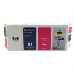 Original C4932A (HP 81) Ink Cartridges, Magenta