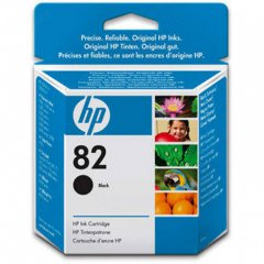 Original CH565A (HP 82) Ink Cartridges, Black