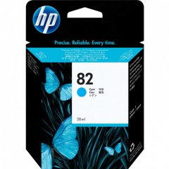 Original C4911A (HP 82) Ink Cartridges, High-Yield Cyan