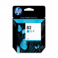 Original CH566A (HP 82) Ink Cartridges, Cyan