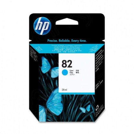 Original CH566A (HP 82) Ink Cartridges, Cyan