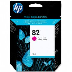 Original C4912A (HP 82) Ink Cartridges, High-Yield Magenta