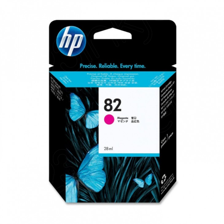Original CH567A (HP 82) Ink Cartridges, Magenta