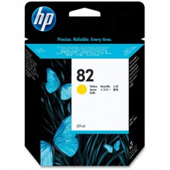 Original C4913A (HP 82) Ink Cartridges, High-Yield Yellow