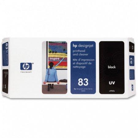 Original C4960A (HP 83) Printhead and Cleaner, Black UV