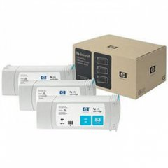 Original C5073A (HP 83) Ink Cartridges, High-Yield Cyan