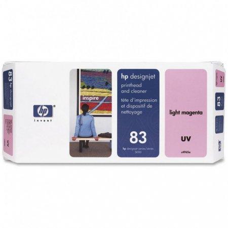 Original C4965A (HP 83) Printhead and Cleaner, Light Magenta UV