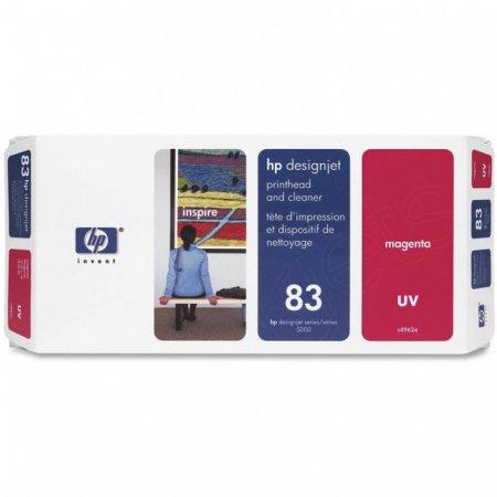 Original C4962A (HP 83) Printhead and Cleaner, Magenta UV