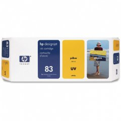 Original C4943A (HP 83) Ink Cartridges, Yellow