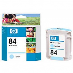 Original C5017A (HP 84) Ink Cartridges, Light Cyan