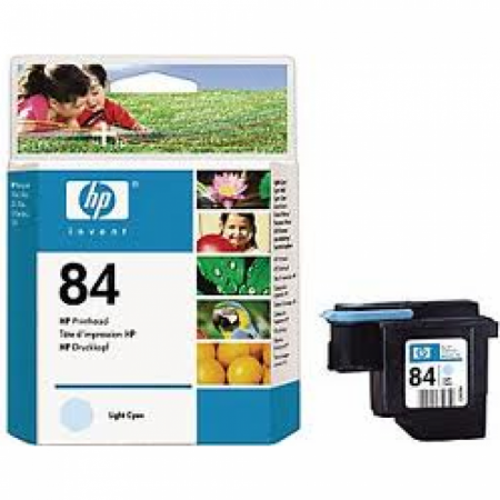 Original C5020A (HP 84) Ink Cartridge Printhead, Light Cyan