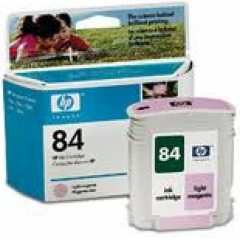 Original C5018A (HP 84) Ink Cartridges, Light Magenta