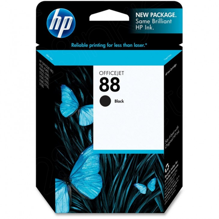 Original C9385AN (HP 88) Ink Cartridges, Black