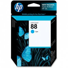 Original C9386AN (HP 88) Ink Cartridges, Cyan