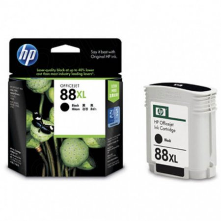 Original C9396AN (HP 88XL) Ink Cartridges, High-Yield Black