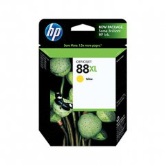 Original C9393AN (HP 88XL) Ink Cartridges, High-Yield Yellow
